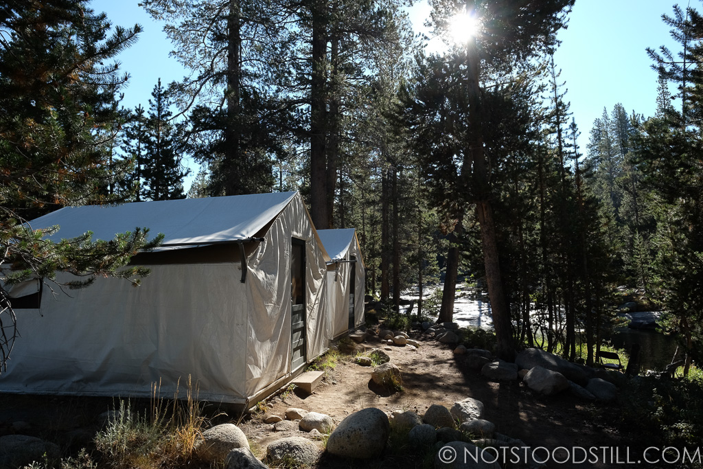 Our tent at Tuolumne Meadows Lodge