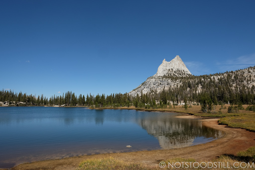 Cathedral peak, Tuolumne. Part of the Cathedral Trail.