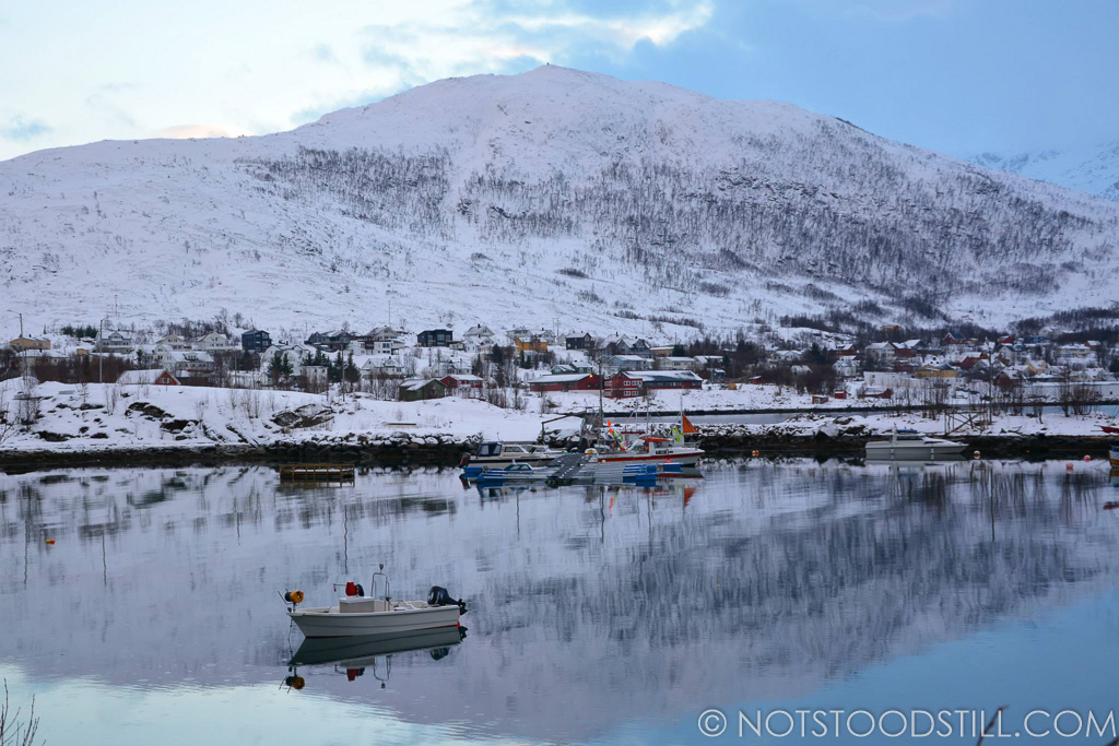 Ersfjordbotn is a small fishing village, located only 13 miles from Tromso