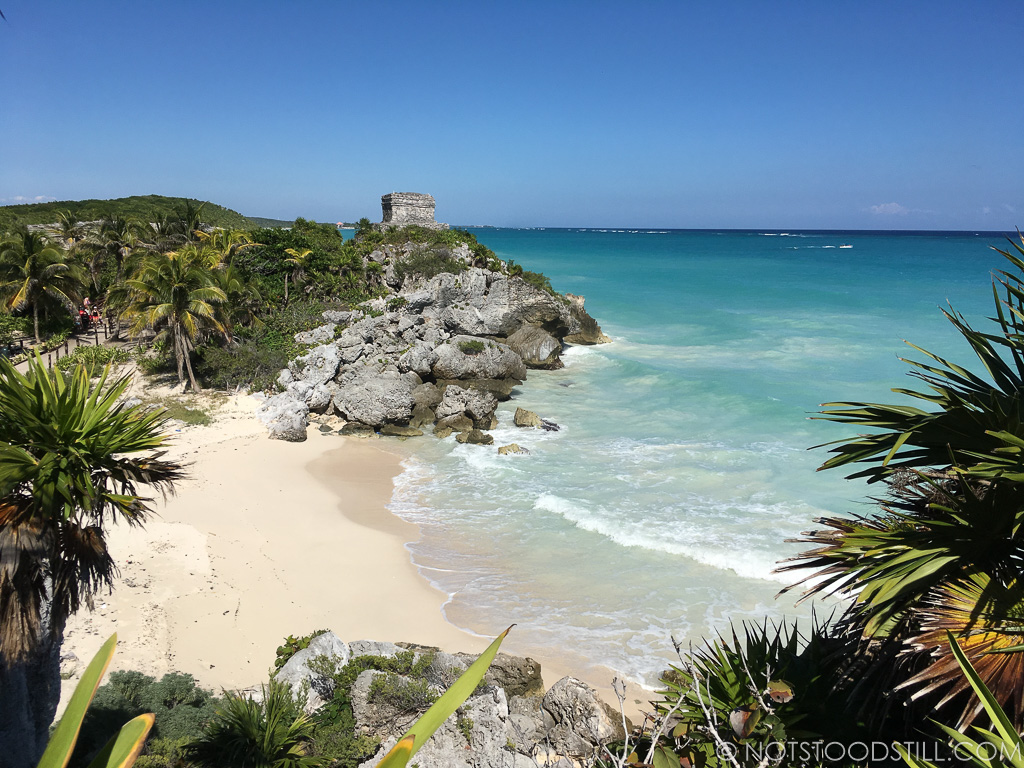 Tulum, Ancient Mayan city with inviting beaches