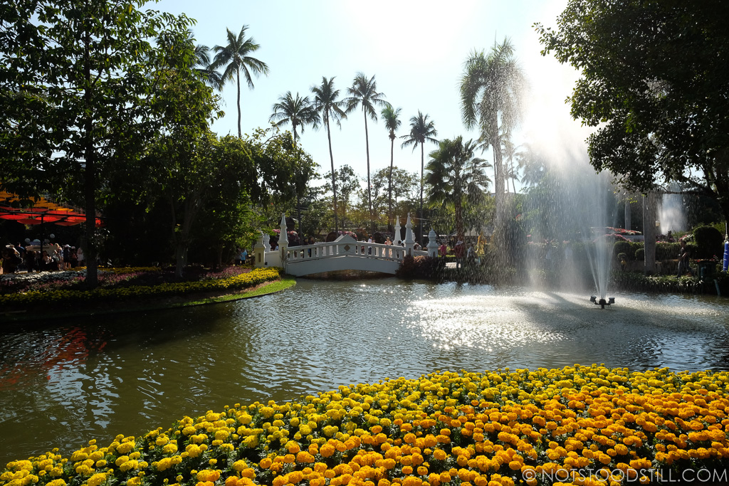 Chiang Flower Festival at the Buak Hard Public Park