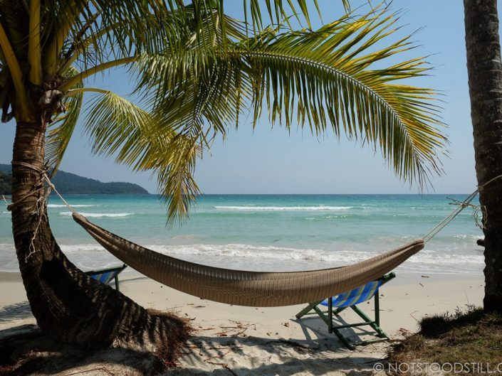 Beaches in Koh Kood are uncrowded