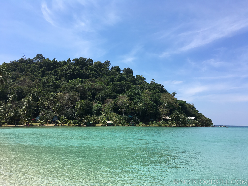 Bang Bao is a beautiful crescent shaped beach