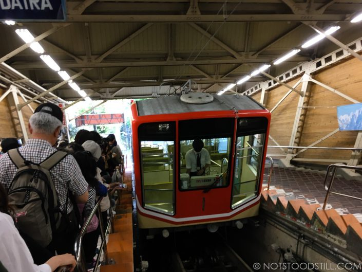 Funicular train, Tateyama