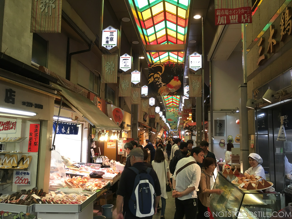 Nishiki Market is great place for lunch