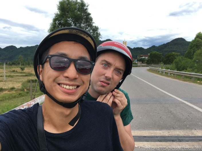 Motorbiking around Phong Nha National Park