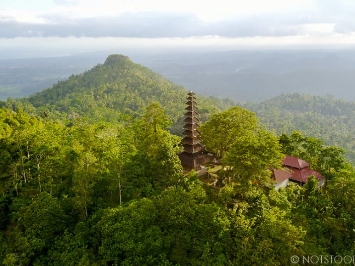 Pura Bukit Sangkan Gunung provides some of the best views in Sidemen.