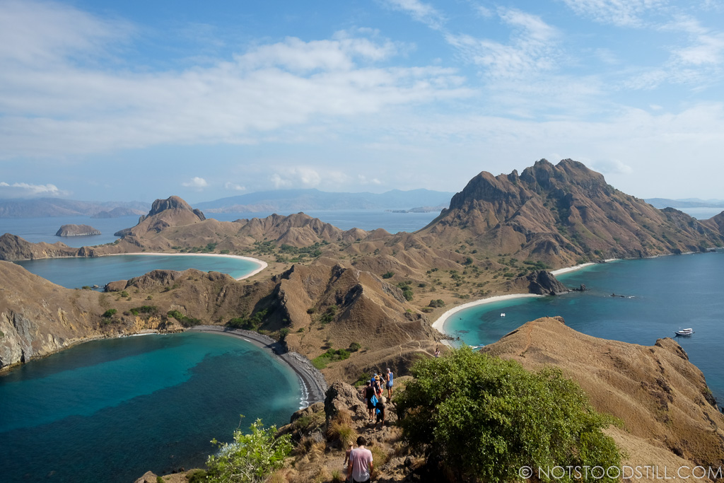 Padar Island, one of the most photographed islands here