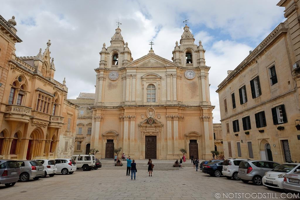 St. Paul's Cathedral, Mdina.